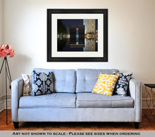 Load image into Gallery viewer, Framed Print, Oklahoma City Bombing Memorial