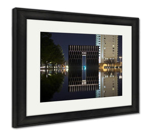 Framed Print, Oklahoma City Bombing Memorial