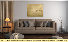 Load image into Gallery viewer, Gallery Wrapped Canvas, Inspirational Quote Words By Paulo Coelho On Old Grunge Backgrou