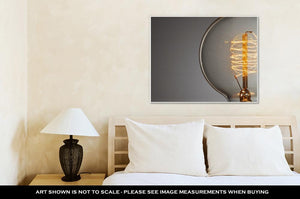 Gallery Wrapped Canvas, Light Bulb