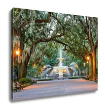 Load image into Gallery viewer, Gallery Wrapped Canvas, Forsyth Park In Savannah Georgia