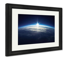 Load image into Gallery viewer, Framed Print, Near Space Photography 20km Above Ground Real Photo
