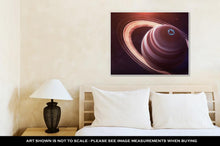 Load image into Gallery viewer, Gallery Wrapped Canvas, Saturn High Resolution Best Quality Solar System Planet All The Planets