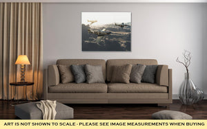 Gallery Wrapped Canvas, P51 Vintage Mustangs