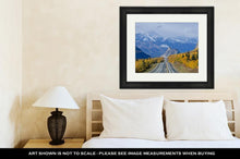 Load image into Gallery viewer, Framed Print, Lions Head Along The Glenn Highway In Alaska