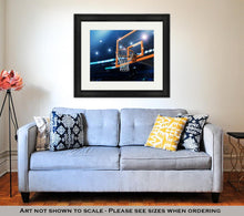 Load image into Gallery viewer, Framed Print, Basketball Arena