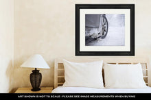Load image into Gallery viewer, Framed Print, Winter Tire