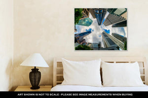 Gallery Wrapped Canvas, Singapore City Skyline