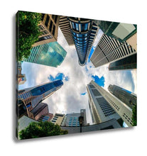 Load image into Gallery viewer, Gallery Wrapped Canvas, Singapore City Skyline