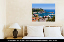 Load image into Gallery viewer, Gallery Wrapped Canvas, Old Town Kaleici In Antalyturkey Travel