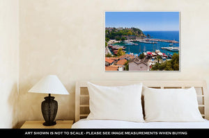 Gallery Wrapped Canvas, Old Town Kaleici In Antalyturkey Travel