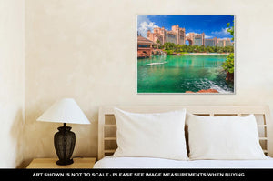 Gallery Wrapped Canvas, Atlantis In Bahamas