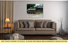 Load image into Gallery viewer, Gallery Wrapped Canvas, Korean Village In Summer By Eyes Of Tourist