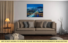 Load image into Gallery viewer, Gallery Wrapped Canvas, Seoul City At Night