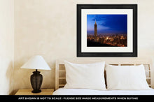 Load image into Gallery viewer, Framed Print, Golden Taipei 101