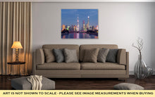 Load image into Gallery viewer, Gallery Wrapped Canvas, Shanghai Skyline At Night