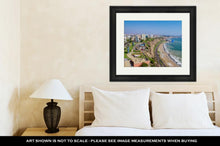 Load image into Gallery viewer, Framed Print, View Of Miraflores Park Lima Peru