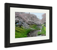 Load image into Gallery viewer, Framed Print, Sakura Near Tokyo