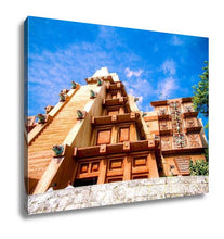 Load image into Gallery viewer, Gallery Wrapped Canvas, The Mexico Pavilion Ad Epcot Florida