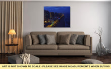 Load image into Gallery viewer, Gallery Wrapped Canvas, Fort Lauderdale Night View Florida