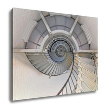 Load image into Gallery viewer, Gallery Wrapped Canvas, Going Up Lighthouse Interior