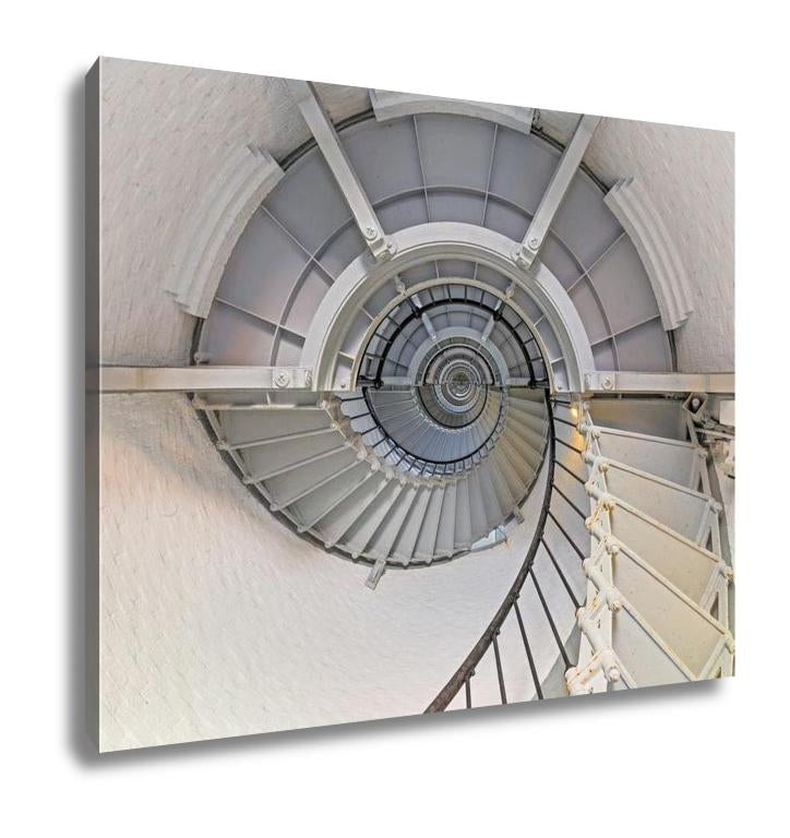 Gallery Wrapped Canvas, Going Up Lighthouse Interior