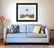 Load image into Gallery viewer, Framed Print, India Gate Against