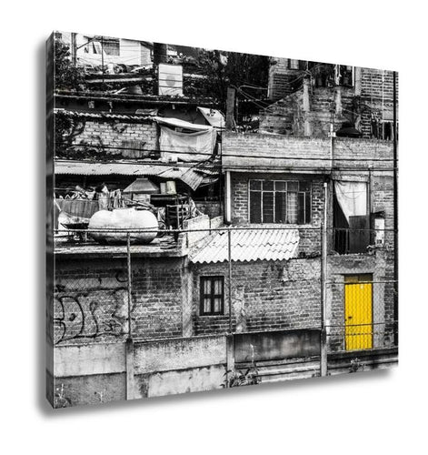 Gallery Wrapped Canvas, Neighborhood In Mexico City