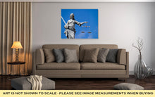Load image into Gallery viewer, Gallery Wrapped Canvas, Statue Of Lady Justice At Dublin Castle In Dublin Ireland