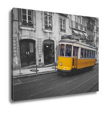 Load image into Gallery viewer, Gallery Wrapped Canvas, Lisbon Tram