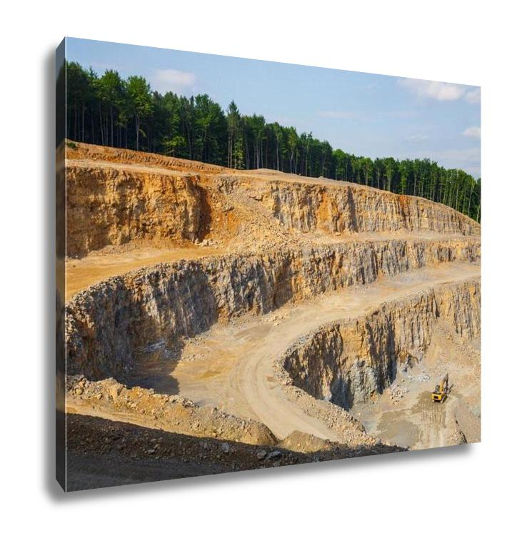 Gallery Wrapped Canvas, Quarry In Poland