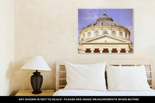 Load image into Gallery viewer, Gallery Wrapped Canvas, Bucharest Romanian Atheneum