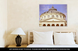Gallery Wrapped Canvas, Bucharest Romanian Atheneum