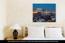 Load image into Gallery viewer, Gallery Wrapped Canvas, Bucharest Aerial View