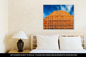 Gallery Wrapped Canvas, Famous Rajasthan Indian Landmark Hawmahal Palace Palace Winds