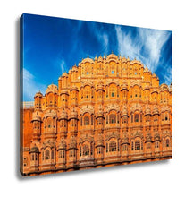 Load image into Gallery viewer, Gallery Wrapped Canvas, Famous Rajasthan Indian Landmark Hawmahal Palace Palace Winds