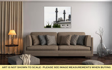 Load image into Gallery viewer, Gallery Wrapped Canvas, Power Plant In Industrial Zone