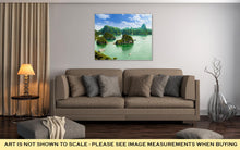 Load image into Gallery viewer, Gallery Wrapped Canvas, Ha Long Bay In Vietnam