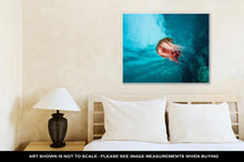 Load image into Gallery viewer, Gallery Wrapped Canvas, Jellyfish At British Columbia