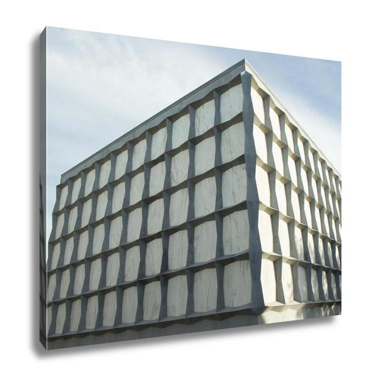 Gallery Wrapped Canvas, The Beinecke Rare Book And Manuscript Library