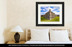 Framed Print, Fort In St Augustine