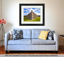 Load image into Gallery viewer, Framed Print, Fort In St Augustine