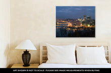 Load image into Gallery viewer, Gallery Wrapped Canvas, View From Mt Washington On Downtown Pittsburgh