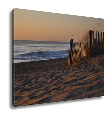 Gallery Wrapped Canvas, Sunrises Are Epic On The Pristine Beaches In The Outer Banks
