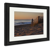 Load image into Gallery viewer, Framed Print, Sunrises Are Epic On The Pristine Beaches In The Outer Banks