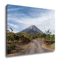 Load image into Gallery viewer, Gallery Wrapped Canvas, Volcano Concepcion View In Ometepe Nicaragua
