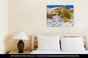 Metal Panel Print, Travertine Terrace Yellowstone
