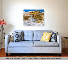 Load image into Gallery viewer, Metal Panel Print, Travertine Terrace Yellowstone