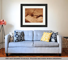 Load image into Gallery viewer, Framed Print, Michaelangelos The Creation Of Adam
