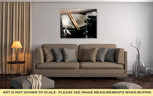 Gallery Wrapped Canvas, Music And Instrument